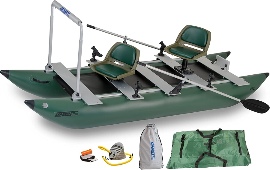 Sea Eagle Green 375fc Inflatable Boat
