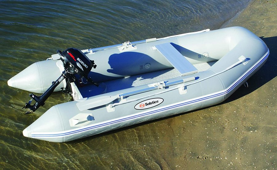 Solstice-4-person inflatable boat