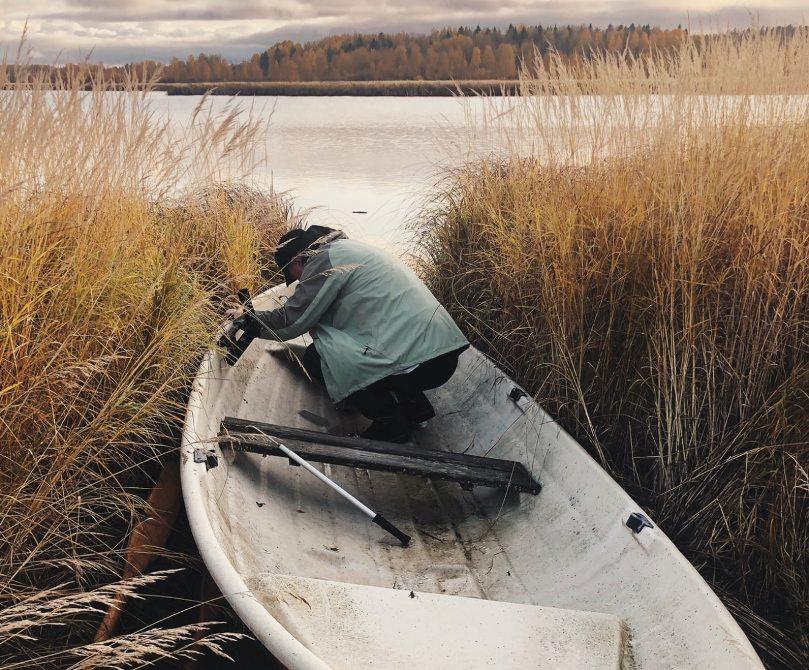 repair composite bass boat